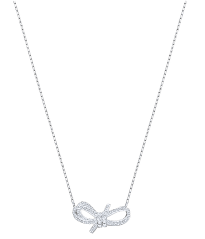 Swarovski Lifelong Bow Necklace