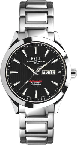 Gents BALL Engineer II Chronometer Red Label – Black Dial
