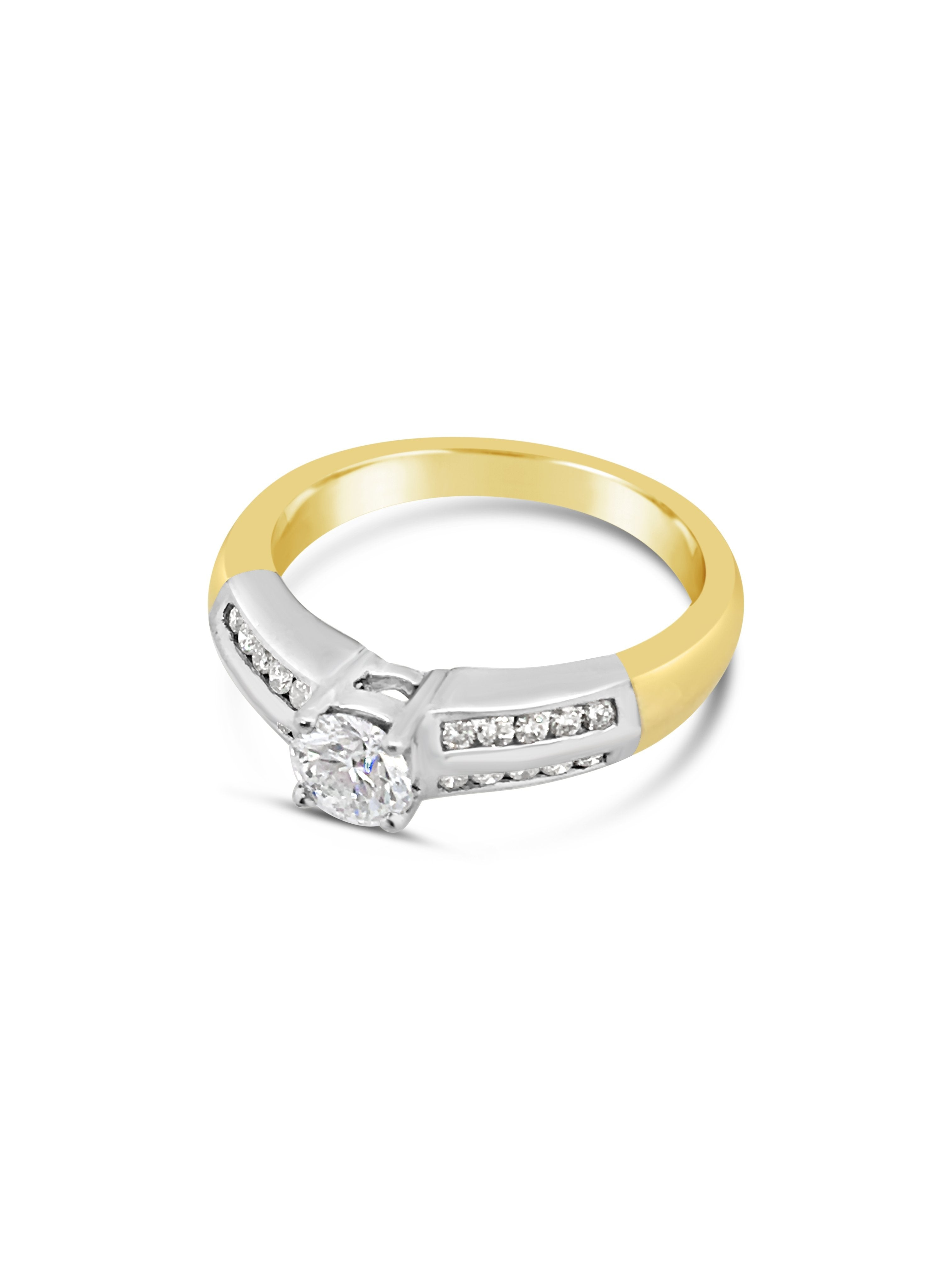 Smales Double Row Engagement Ring Perth Jewellery
