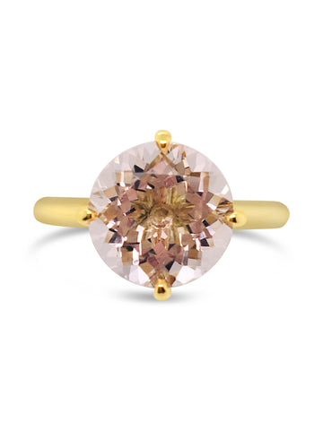 Pink Sky Morganite Ring