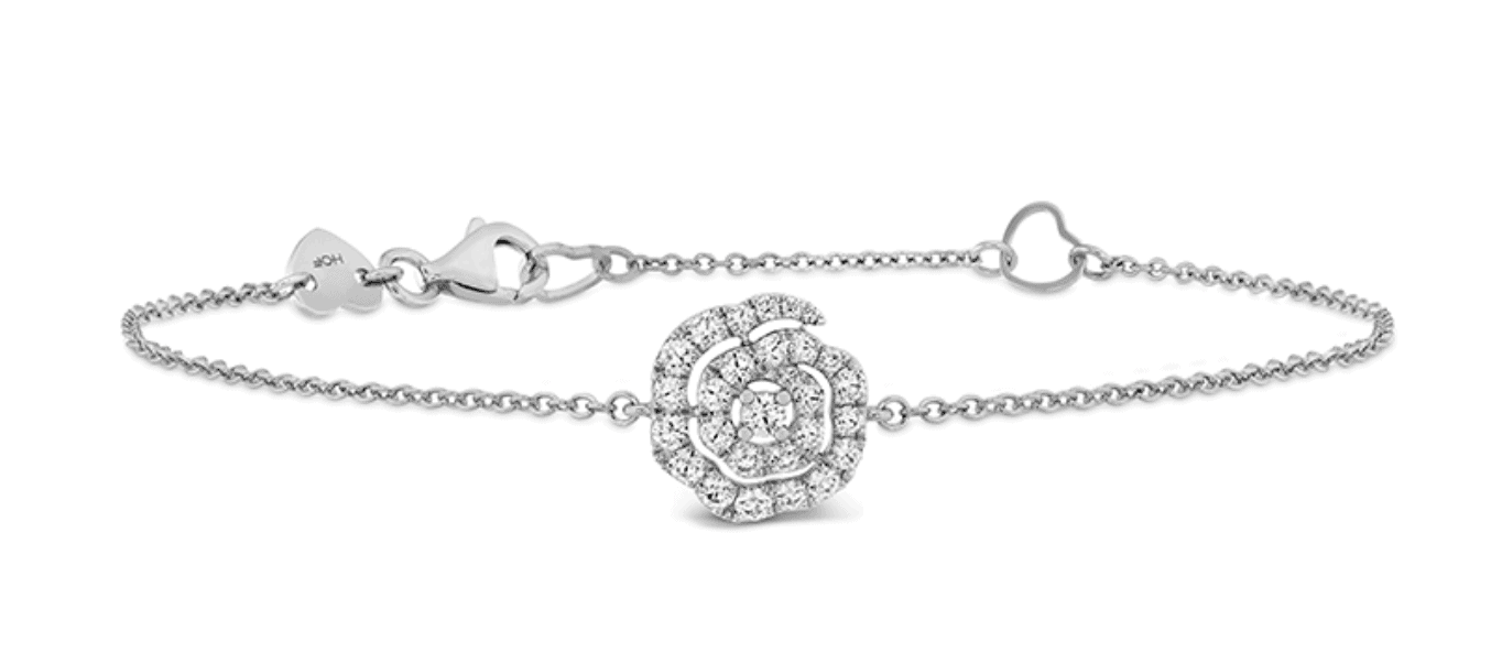Hearts on Fire Lorelei Diamond Floral Bracelet