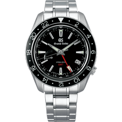 Grand Seiko Spring Drive Black Date GMT Dial available at Smales Jewellers Perth