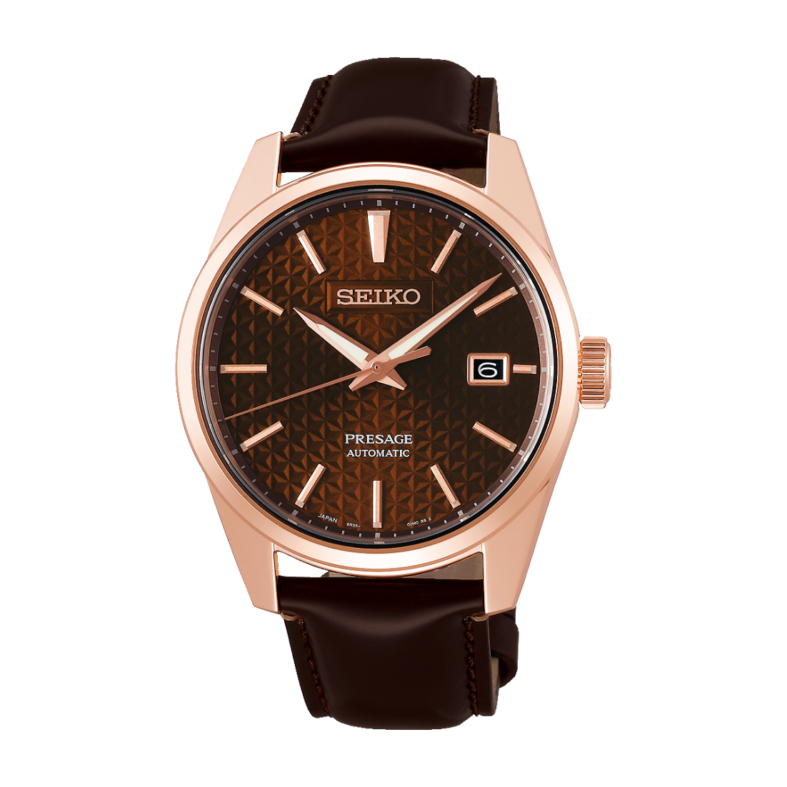 Seiko Presage Automatic Watch - Brown Dial