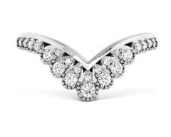 Behati Silhouette Power Bridal Wedding Band