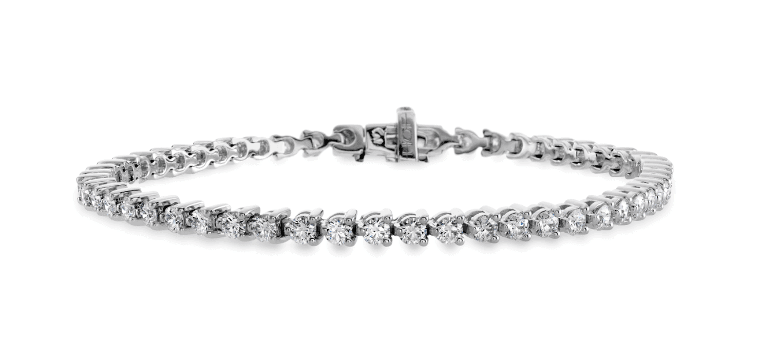 Hearts on Fire Temptation Three Prong Bracelet