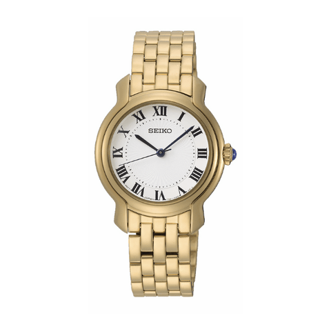 Seiko Ladies Gold Dress Watch - 50m