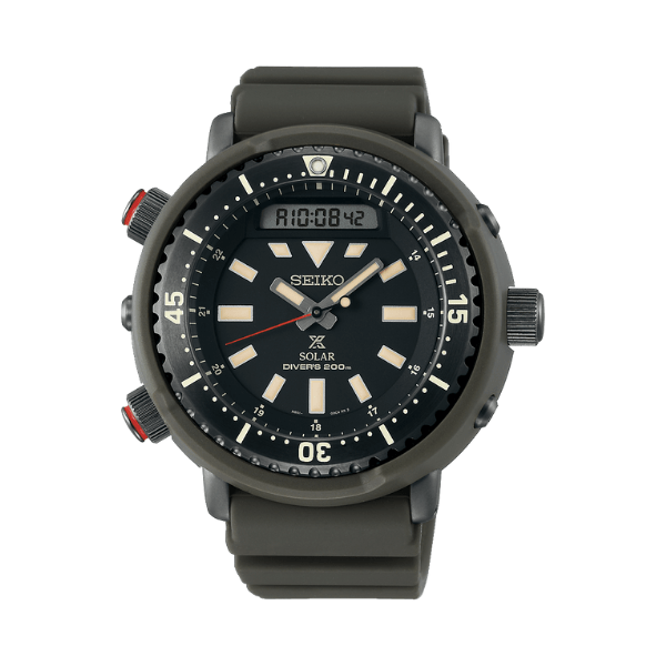 Seiko Prospex Solar Divers Watch Street Series
