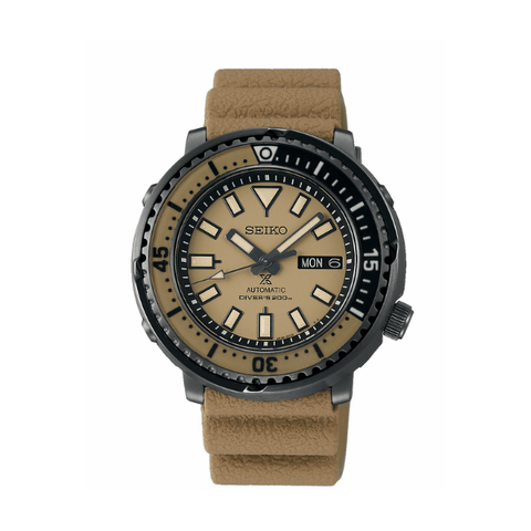 Seiko Prospex Automatic Divers Watch - Tan