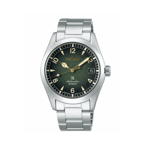 Seiko Prospex 'Alpinist' Automatic Mens Watch Textured Dial - Green