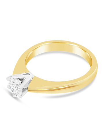 Smales 6 Claw Engagement Ring Jewellery Perth