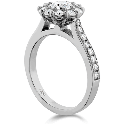 Beloved Diamond Engagement Ring - Side View