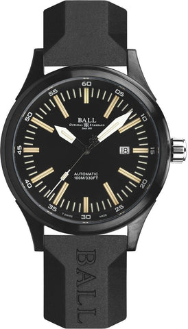 Gents BALL Fireman Night Train II DLC – Black Dial Watch Perth