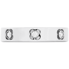 Copley Multi Diam Band 4mm Jewellery white