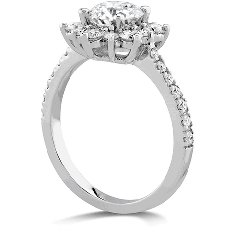 Delight Lady Di - Diamond Band Setting Perth Ring