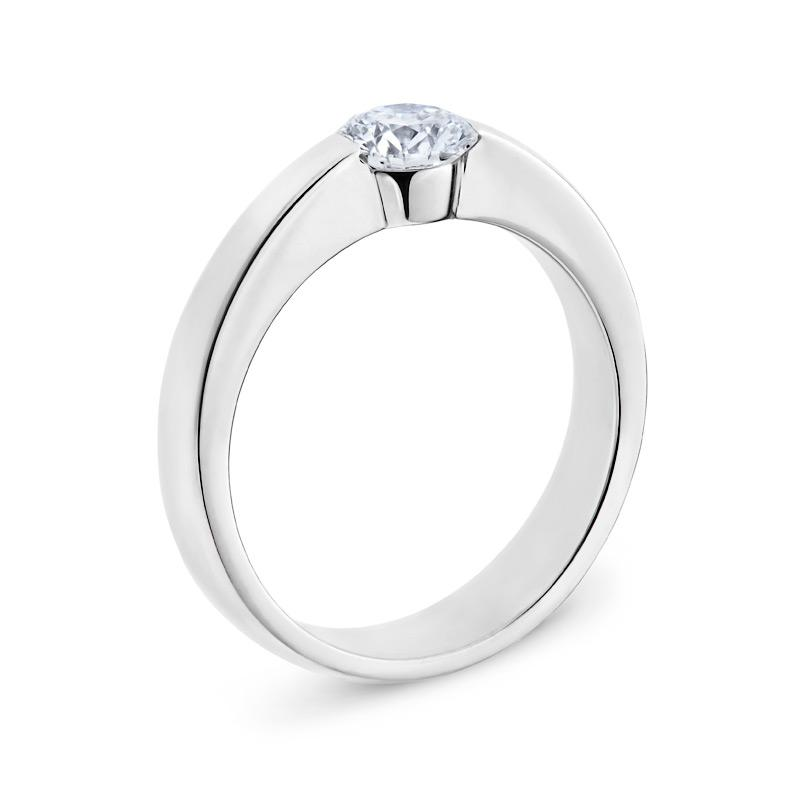 Smales Diamond Solitaire Engagement Ring in White Gold Perth
