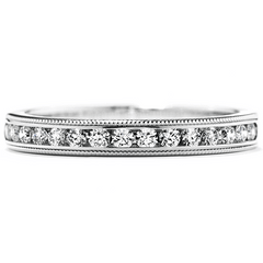 Eterne Milgrain Wedding Band Jewellery