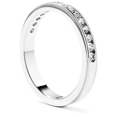 Eterne Milgrain Wedding Band Jewellery Perth
