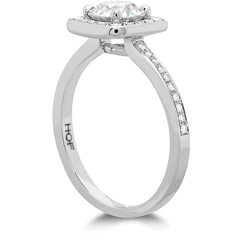 Euphoria Custom Halo Engagement Ring Jewellery