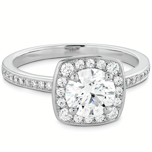 Euphoria Custom Halo Engagement Ring Jewellery Perth
