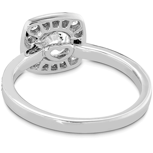 Euphoria Custom Halo Engagement Ring Perth Jewellery
