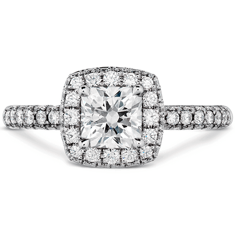 Euphoria Dream Pave Engagement Ring Perth