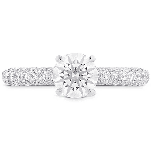 Euphoria HOF Engagement Ring - Diamond Band Perth