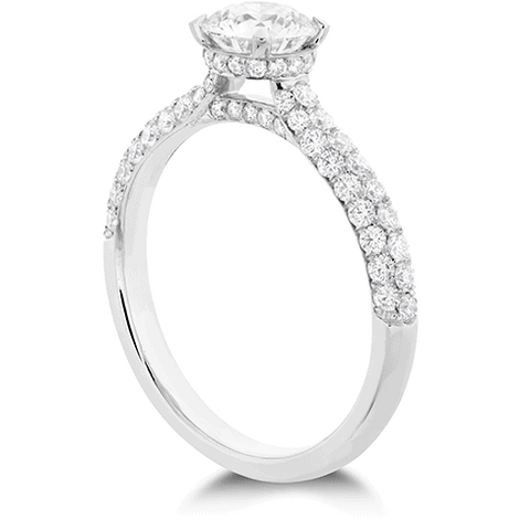 Euphoria HOF Engagement Ring - Diamond Band Jewellery