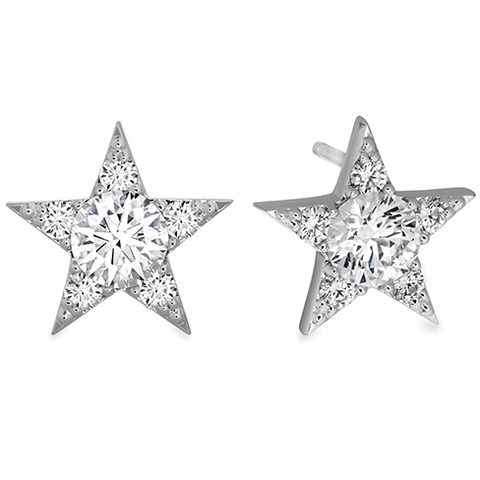 Illa Cluster Stud Earrings Diamond Perth
