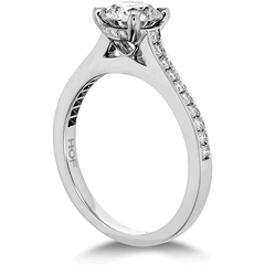 Illustrious Engagement Ring-Diamond Band Perth