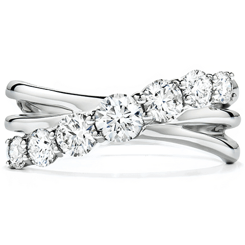 Intermingle Single Right Hand Ring Diamond