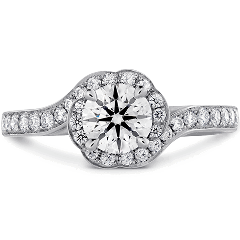 Lorelei Bloom Engagement Ring-Diamond Band Perth