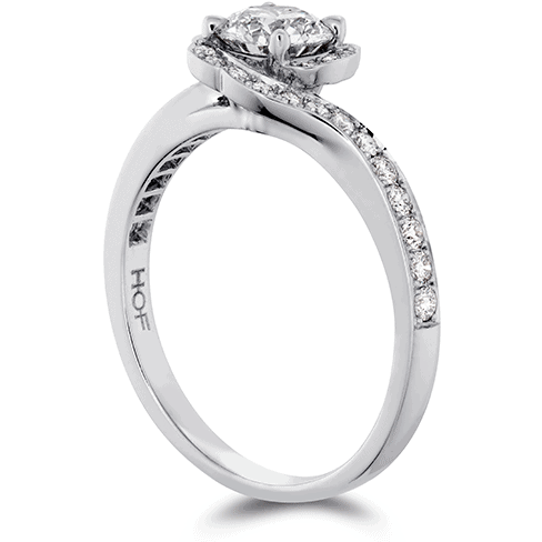 Lorelei Bloom Engagement Ring-Diamond Band Jewellery