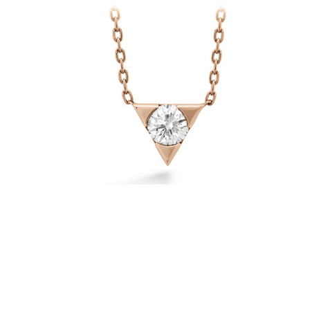*Triplicity Single Diamond Pendant