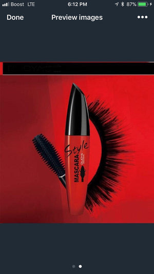 3D Fiber Lashes Mascara To Eyelashes for Curling Thick Black lashes.