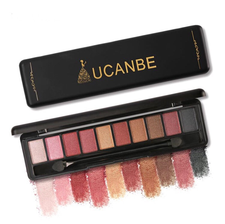 UCANBE Glitter Eyeshadow Makeup.