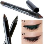 Party Queen Eye Liner Pencil Makeup,Black/Brown Color Pencil.
