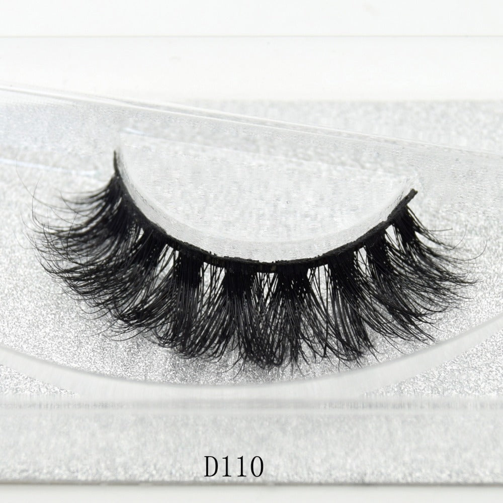 3D 100% Homemade Mink Eyelash Extension 1 Pair.