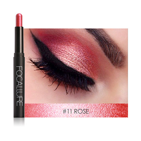 Focallure Natural Long Lasting Eye Shadow Pencil Makeup. 12 Colors.