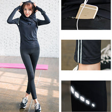 Load image into Gallery viewer, Elastic Running Leggings