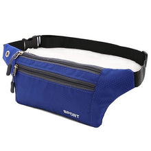 Load image into Gallery viewer, Multi Zipper Waist Bag