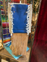 Spirit of the South Saddle Blanket & Leather Fringe Crossbody with Tooled Leather Strip JJ