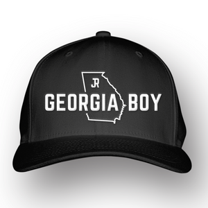 """Georgia Boy"" State Outline Hat"