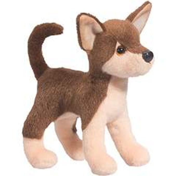8 Inch Papito Chocolate Chihuahua Dog Plush Stuffed Animal By