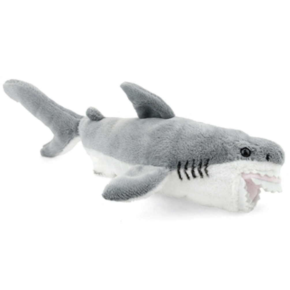 12 Inch Conservation Critter Great White Shark Plush Stuffed Animal