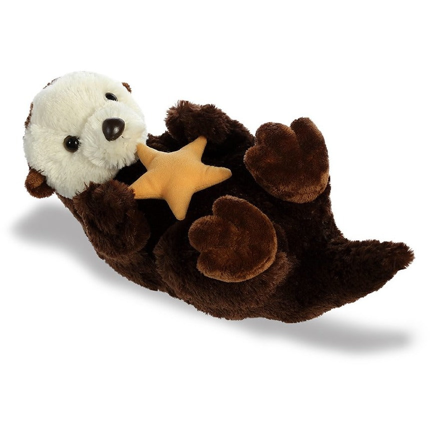14 Inch Destination Nation Sea Otter Plush Stuffed Animal By Aurora