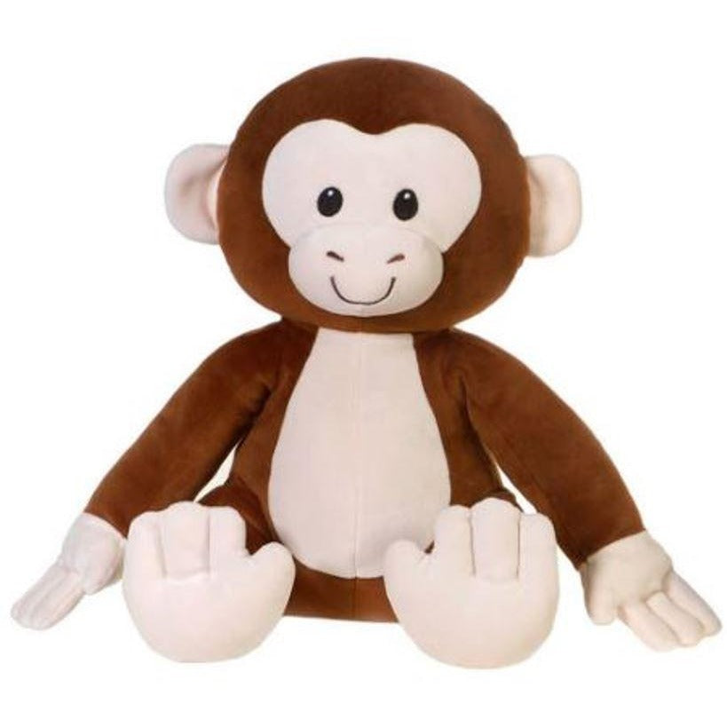 12 Inch Huggy Huggables Monkey Plush Stuffed Animal By Fiesta