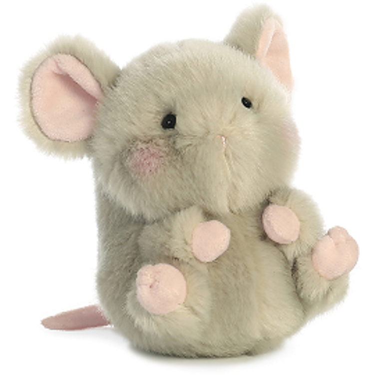 3aa21019cec0 5 Inch Frisk Mouse Rolly Pet Plush Stuffed Animal by Aurora -  AllThingsToyStore