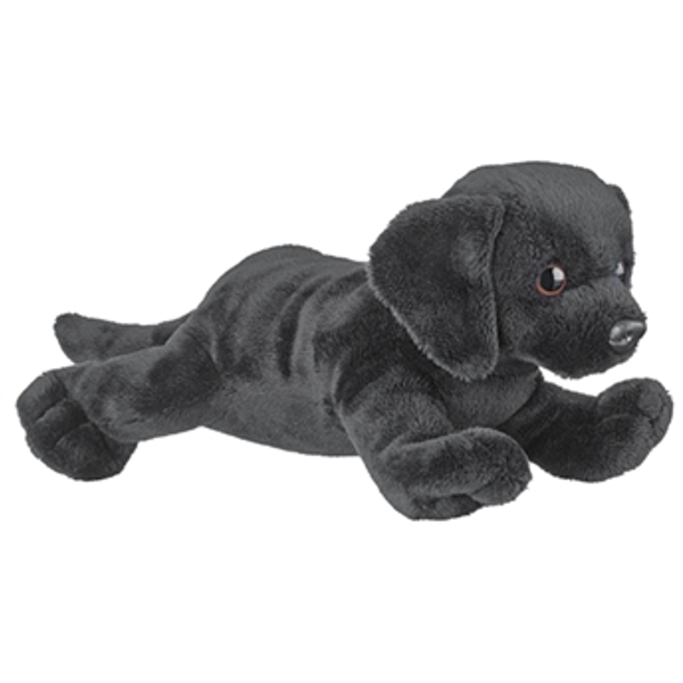 9 Inch Conservation Critter Black Lab Dog Plush Stuffed Animal By