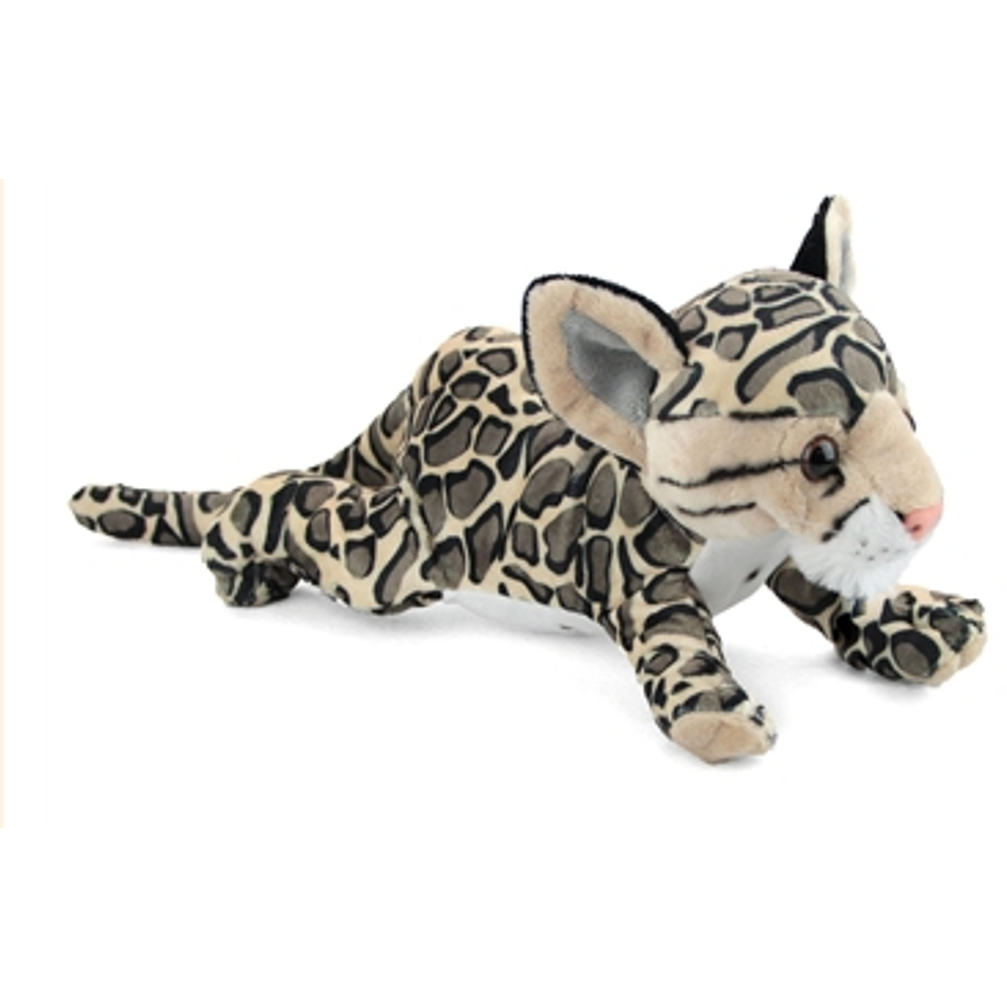 14 Inch Conservation Critter Clouded Leopard Plush Stuffed Animal By