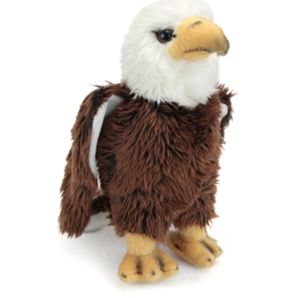 9 Inch Conservation Critter Bald Eagle Bird Plush Stuffed Animal By